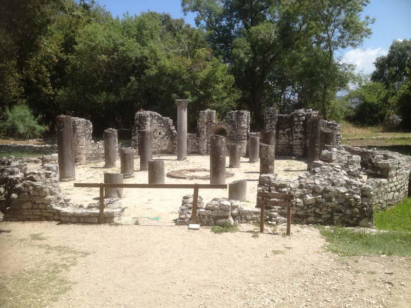 Butrint - ruins